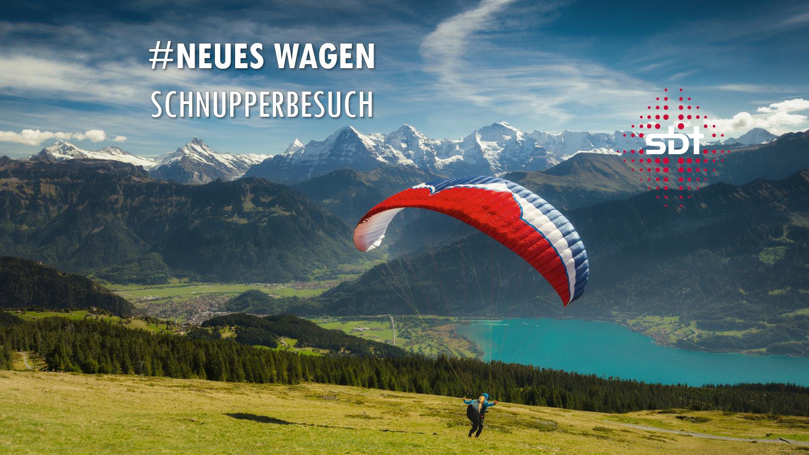 Berner Oberland - Gleitschirmflieger