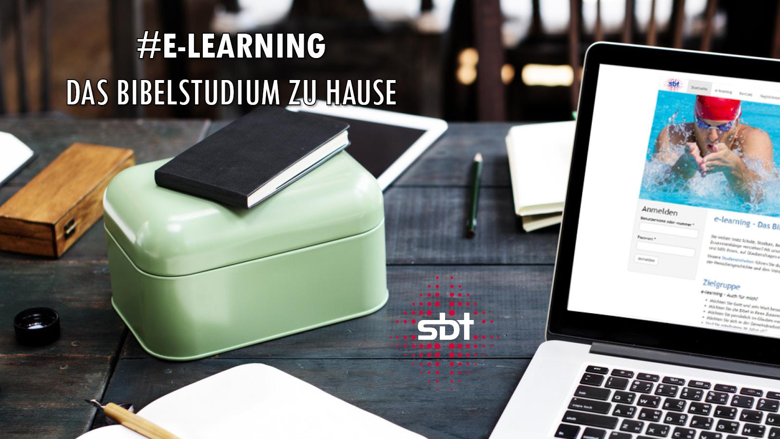 e-learning - das Bibelstudium zu Hause