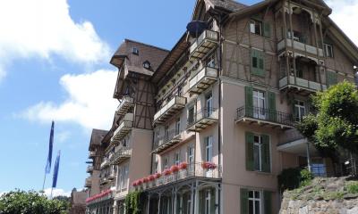 Frontseite des Gästehauses
